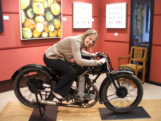 Riding in The John Davies Gallery