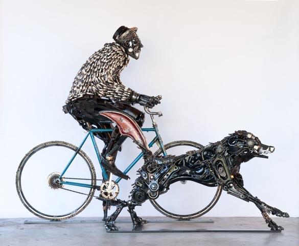 Rider and Malamute